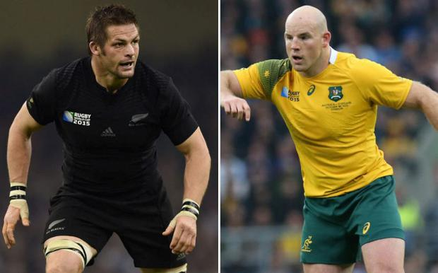 One of these men will lift the Webb Ellis Trophy this evening