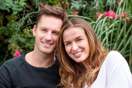 Global love: Dancer Tristan MacManus and actor-turned-writer Tahyna Tozzi met in LA and travel all around the world for work. Photo: Tony Gavin
