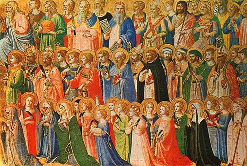 All Saints by Fra Angelico