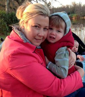 BEYOND COST: Gillian Treacy with her son Ciaran, who lost his life after their car was hit by a drunk driver