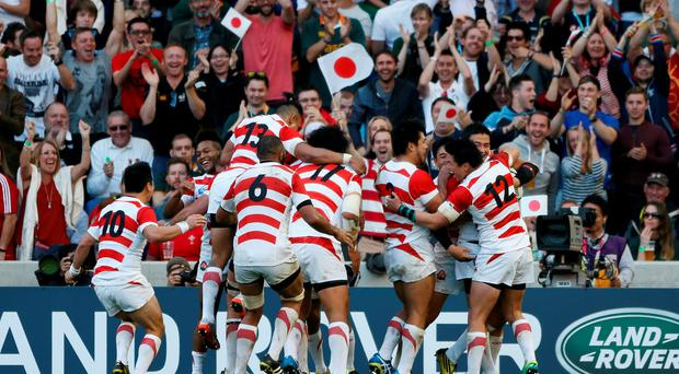 Best Moment: The final whistle in Brighton when Japan sealed the biggest upset in Test rugby history
