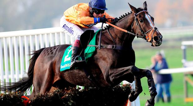 Kilcooley, with Richard Johnson up, on their way to victory at Wetherby