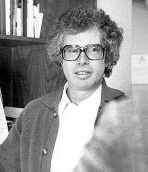 CRISIS: Ken Taylor in 1980 briefing a reporter in Iran