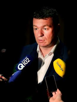 EGO: Environment Minister Alan Kelly has been told from on high to settle down a bit and become more of a team player