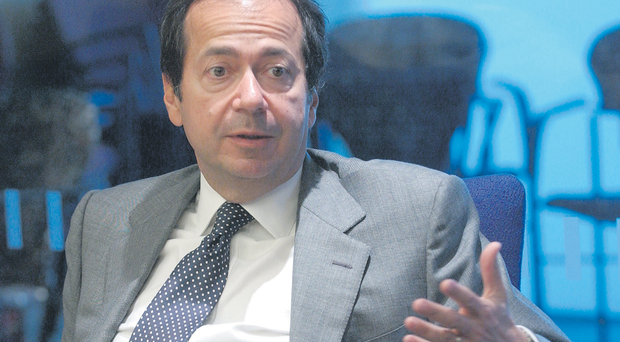 The hedge fund founded by star trader John Paulson sold the shares in two transactions on October 26 when Green's share price closed at €1.52, meaning it earned around €23m from the sale
