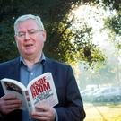 "Former Tanaiste Eamon Gilmore, before going into RTE's Miriam O'Callaghan radio show to talk about his new book ""Inside the Room"" today. 1/11/2015 Picture by Fergal Phillips"