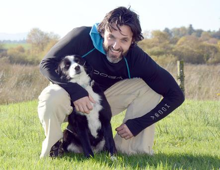 Bella the collie who fled home last night and partied in a local nightclub Picc: Paul Mealey