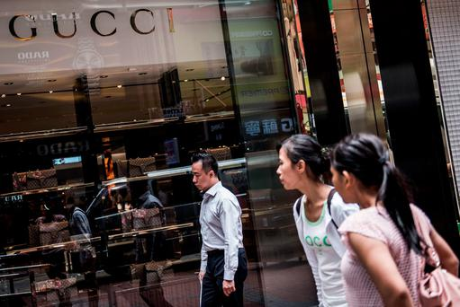 Chinese consumers account for almost a third of total luxury sales