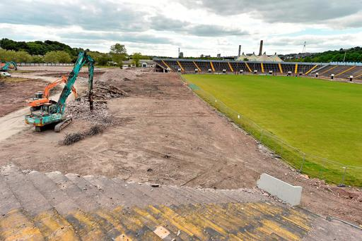 Improvements being carried out to the landmark GAA venue in Cork city are in line with necessary protocols, according to the County board