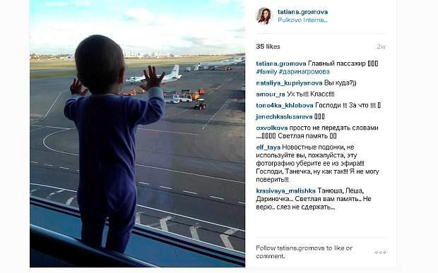 10-month-old Darina Gromova is thought to be the youngest victim Photo: Instagram/ Tatyana Gromova