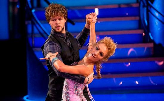 Jay McGuinness and Aliona Vilani