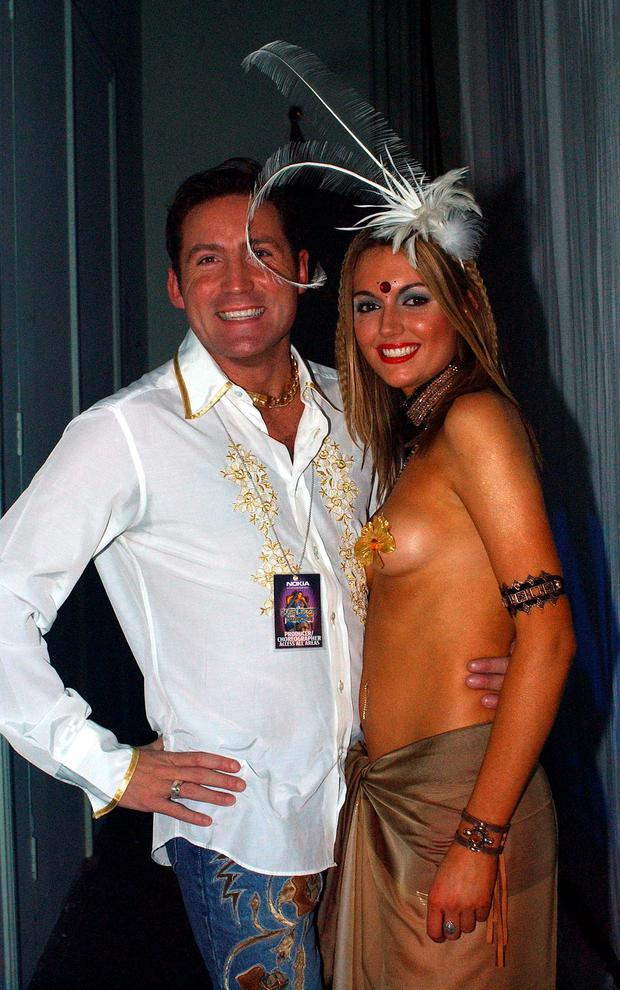 Former Miss World Rosanna Davison went almost topless back in 2003 at a UCD fashion show