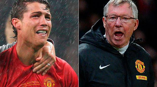 Ronaldo was left in tears by Alex Ferguson