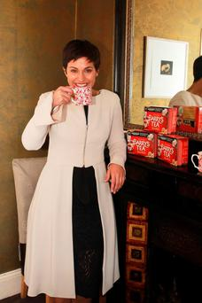 Maria Walsh revealed that a cup of Barry's Tea always reminds her of home.