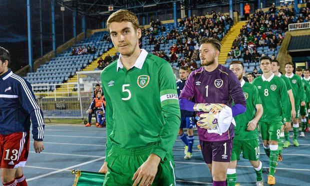 Republic of Ireland under-21 international Tommie Hoban