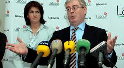 Joan Burton was the last of Labour's cabinet nominees to be summoned to see the then party leader, Eamon Gilmore, at which point she was given just 60 seconds to accept or reject the role of Social Protection Minister