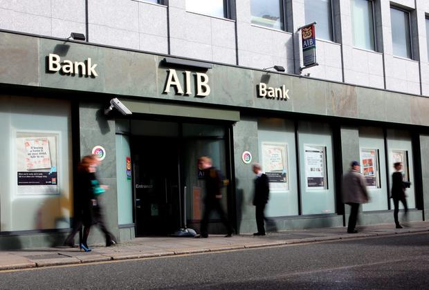 AIB Bank. File picture