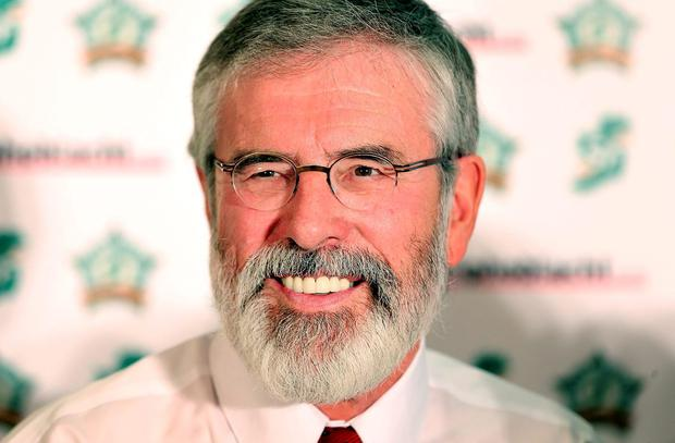 Gerry Adams: guest of honour