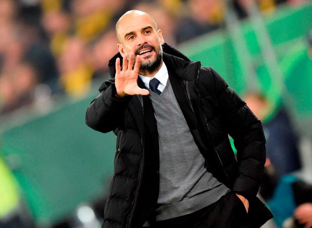 Pep Guardiola is rumoured to be taking over at Manchester City next season