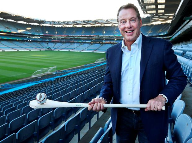 William Clay Ford Jnr, great-grandson of Henry Ford and executive chairman of the Ford Motor Company at Croke Park. Photo: Steve Humphreys
