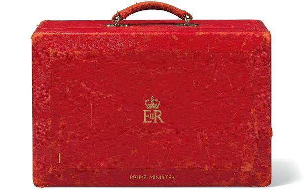 A prime ministerial dispatch box, expected to sell for up to £5,000