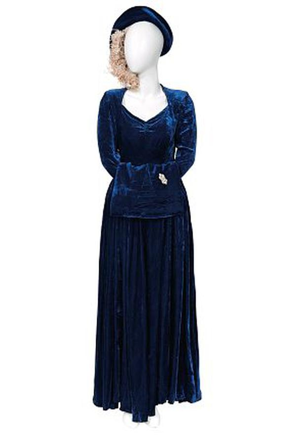 Margaret Thatcher's wedding outfit (estimate: £10,000-15,000)