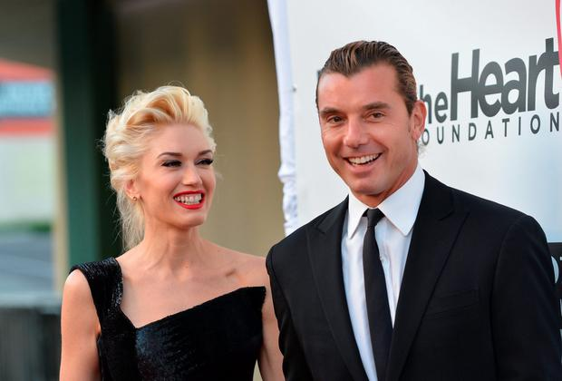 Singers Gwen Stefani and Gavin Rossdale arrive to The Heart Foundation Gala at Hollywood Palladium on May 10, 2012 in Hollywood, California. (Photo by Alberto E. Rodriguez/Getty Images)
