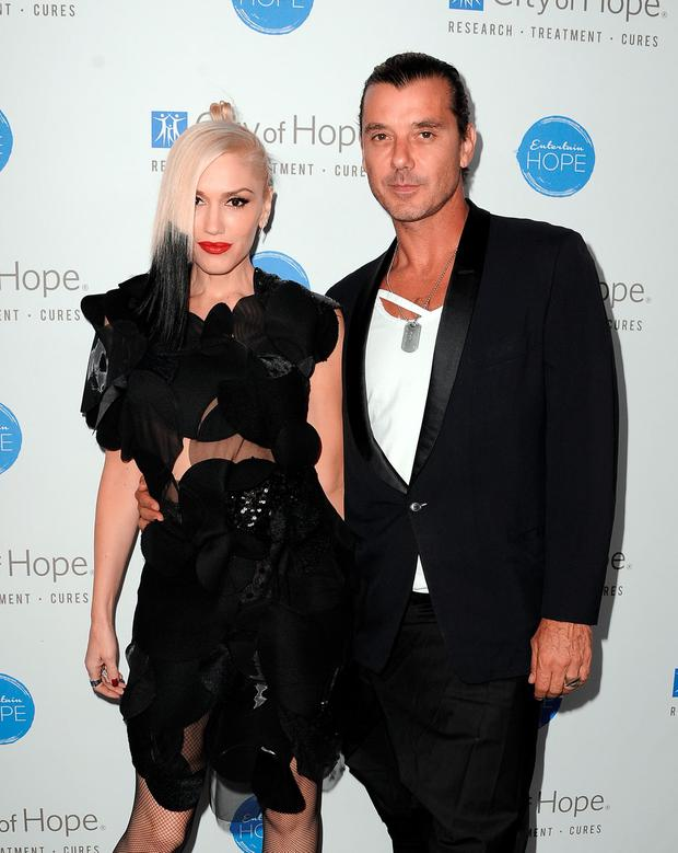 Singer Gwen Stefani and singer Gavin Rossdale attend the City of Hope Spirit of Life Gala honoring Apple's Eddy Cue at the Pacific Design Center on October 23, 2014 in West Hollywood, California. (Photo by Angela Weiss/Getty Images for City Of Hope)