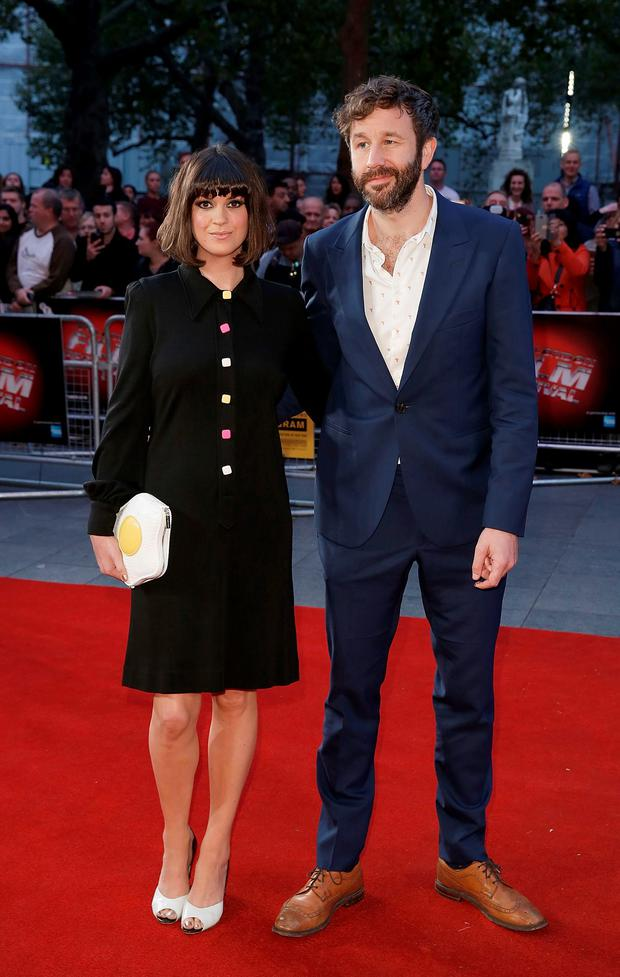 Dawn O'Porter and Chris O'Dowd attend the 'The Program' screening, during the BFI London Film Festival, at Vue Leicester Square on October 10, 2015 in London, England. (Photo by John Phillips/Getty Images for BFI)