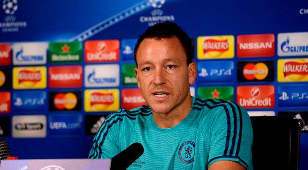 Chelsea's John Terry during the press conference