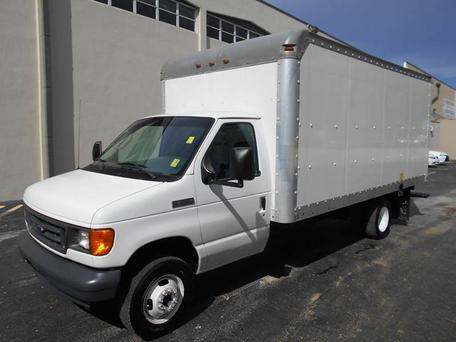 A 16 foot 2006 Ford truck like the one Brandon calls home (stock image)