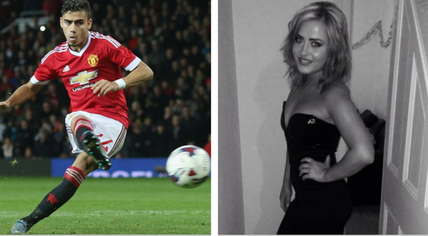 Student Kelly McKinney alleged that Andreas Pereira tracked her down via Twitter after meeting at a club