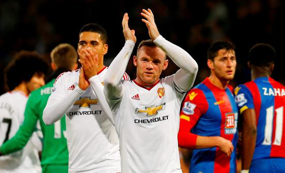 Manchester United's Wayne Rooney has copped a lot of flak in recent weeks
