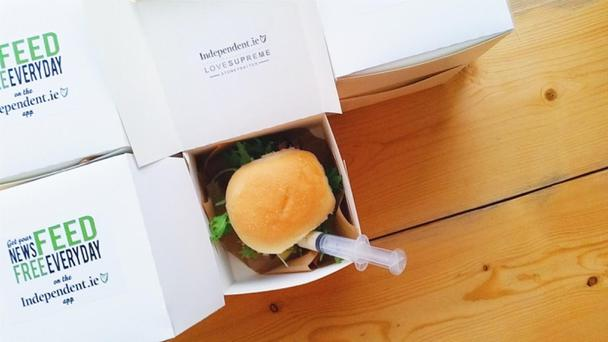 The Independent.ie gourmet sandwiches proved a hit