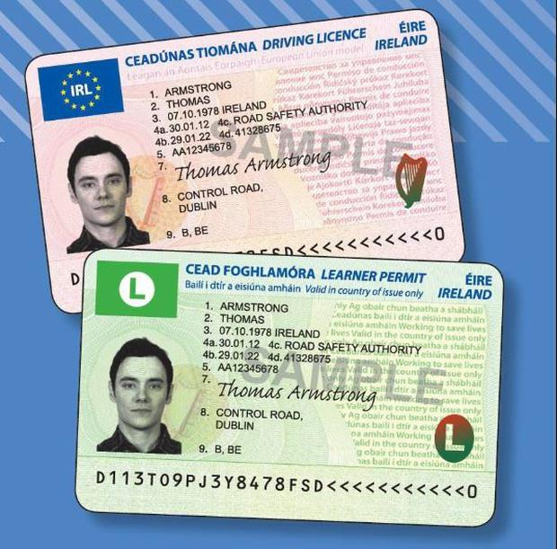 The new look driving licence launched in recent years - make sure to check yours is in date.