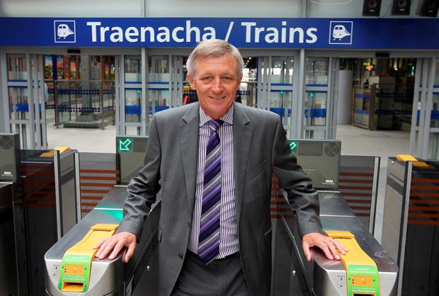 Irish Rail chief executive David Franks sent a letter to staff
