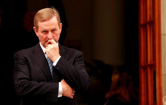 Mr Kenny said contingency plans, which also included the potential need to supply fuel, electricity and medicine, were drawn up after he took over as Taoiseach