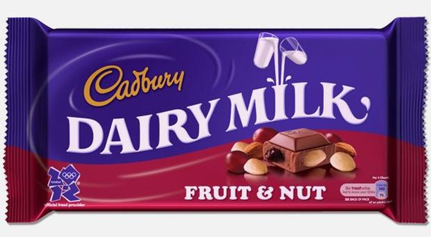 Cadbury has annoyed fans by changing the recipe of Fruit & Nut bars