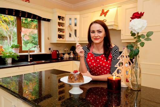 Cooking the Books with Joanna Kiernan: Plum-Pudding from 'All in the Cooking'. Photo:Michael Donnelly.