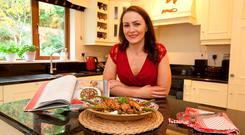 Cooking the Books with Joanna Kiernan: Spiced Chicken by Jamie Oliver. Photo:Michael Donnelly.