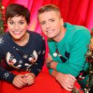 Brian Ormond and Maria Walsh hosted 2015's Toy Show for TV3. Pictures Brian McEvoy