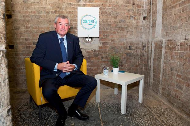 Bank of Ireland boss Richie Boucher wants cashless banking
