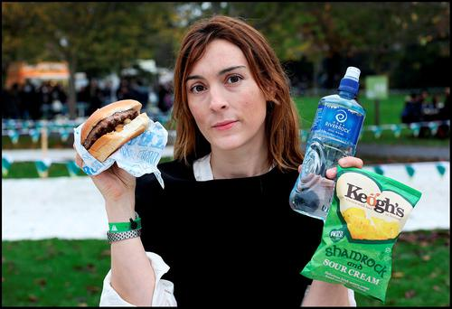 Nicola Anderson is not impressed with lunch