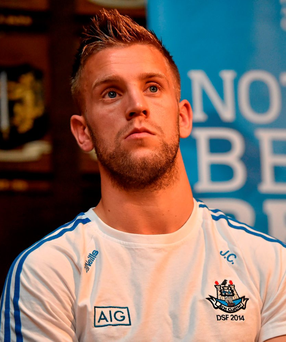 Dublin footballer Jonny Cooper was stabbed in the face