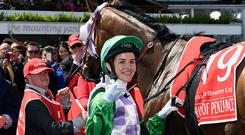 Michelle Payne: 'It's such a chauvinistic sport, I know some of the owners wanted to kick me off'
