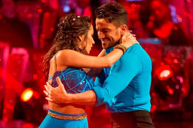 Peter Andre and dance partner Janette Manrara on Strictly Come Dancing