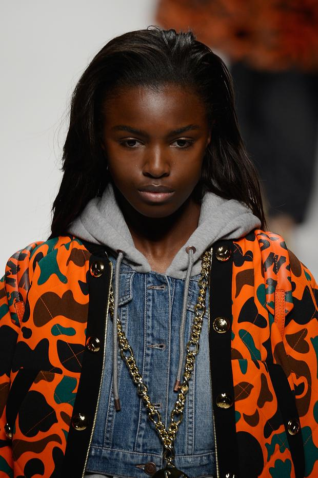 Leomie Anderson (Photo by Pietro D'Aprano/Getty Images)