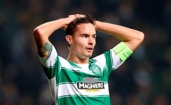 Celtic's Mikael Lustig Action Images via Reuters / Lee Smith