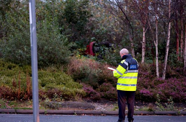 The man's body was found in a car in Galway