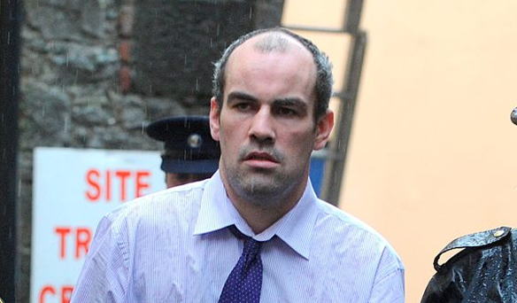 Michael Martin is taken from Portlaoise Circuit Court after having been given a 17-year sentence